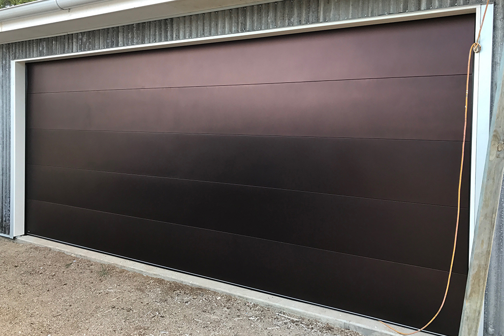 Nullarbor Burnished Copper Garage Door