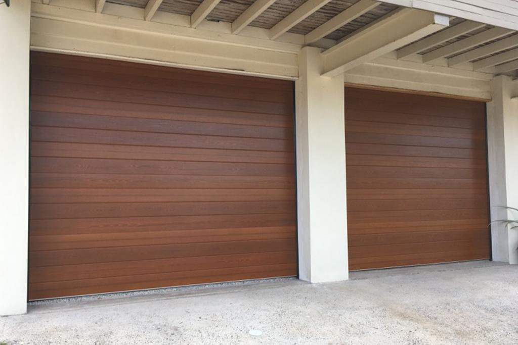 Seville Jatoba Garage Door