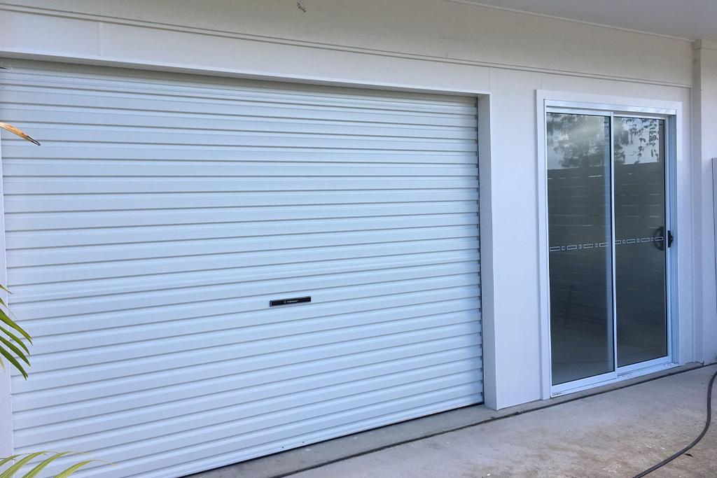 Residential Roller Door Surfmist