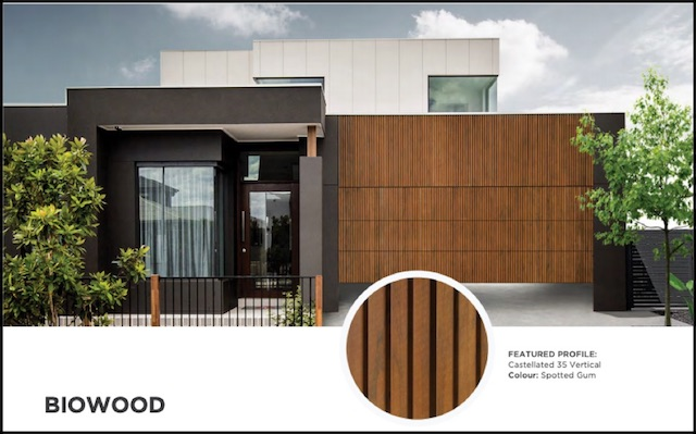 What do timber garage doors look like? Biowood has the answer.