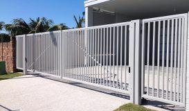 aluminium swing gates