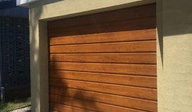 Neo Roll-A-Door in Golden Oak